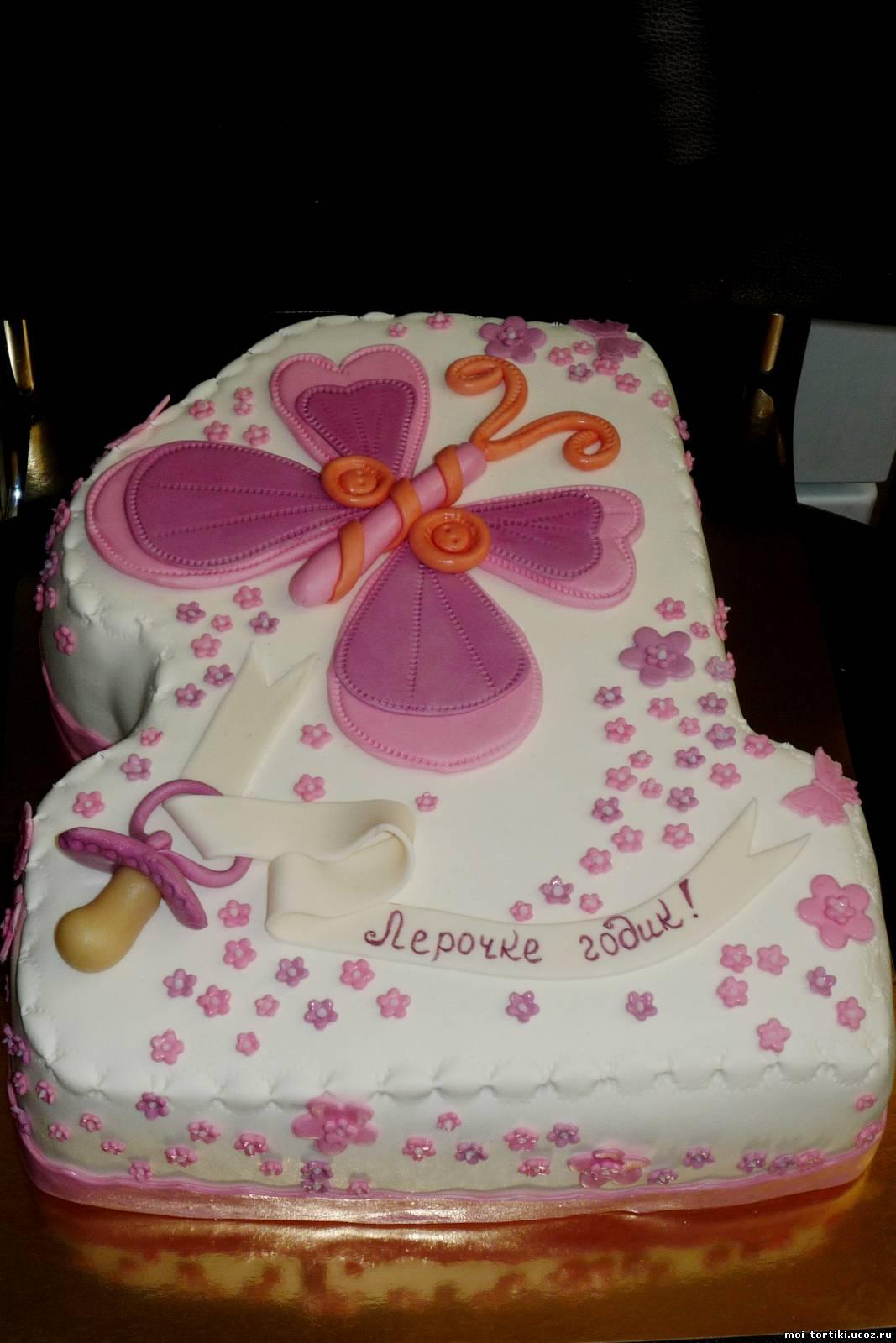 Торт Единичка для маленьких принцесс рецепт с фото 39
